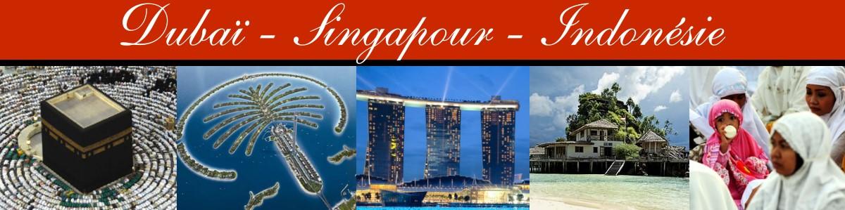 Dubaï - Singapour - Indonésie