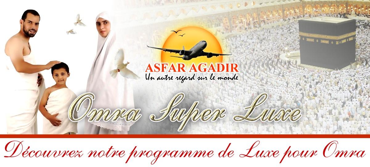 Agence de voyage à Agadir - Pèlerinage : Haj & Omra.