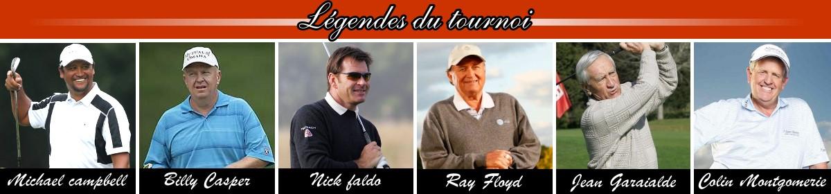Légendes du tournoi Hassan II Golf Trophy